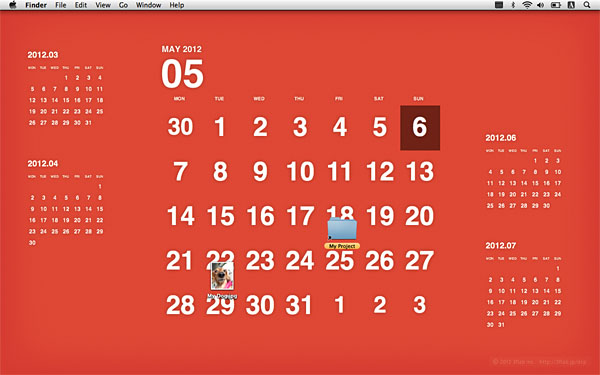Desktop Calendar Plus For Mac Display Your Calendar On Your