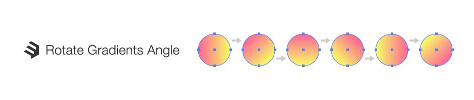 グラデーション角度変更
