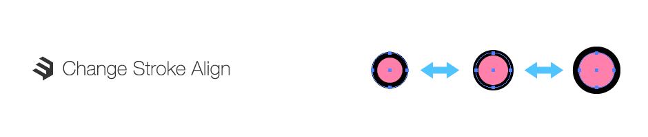 線の位置を変更