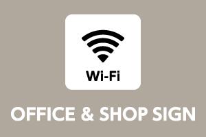 OFFICE & SHOP SIGN ステッカー始めました。