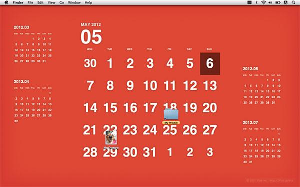 Desktop Calendar Plus For Mac Display Your Calendar On Your