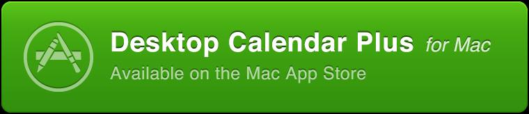 Desktop Calendar Plus for Mac | Display your calendar on