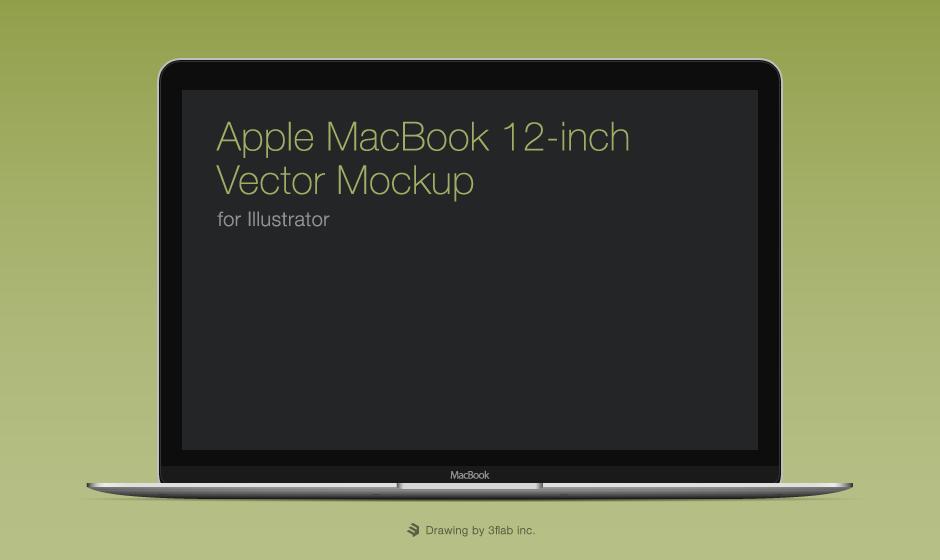 Apple MacBook 12-inch Illustration
